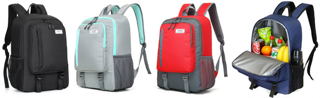 Tourit Backpack Lunch Coolers in 4 Different Colors