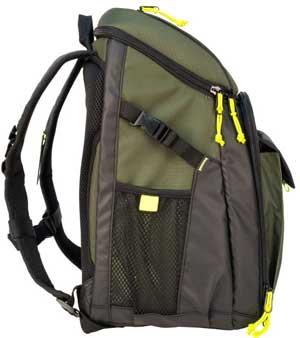 Side Mesh Pockets and Padded Adjustable Shoulder Straps of Gizmo Backpack Cooler