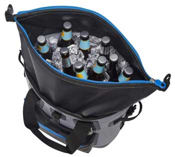 Built NY Backpack Cooler withs Beer and Ice Without Leaking