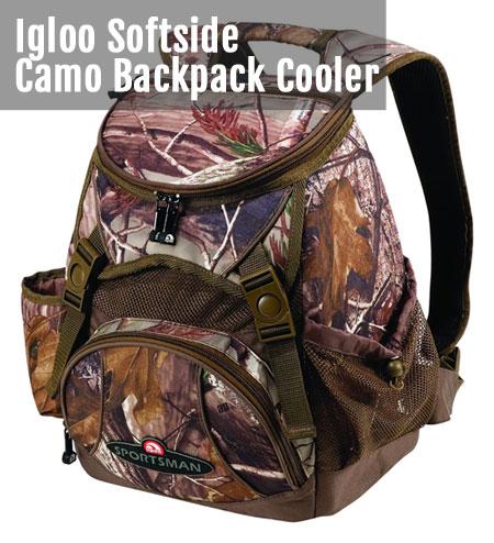 Realtree Camo Backpack Cooler - Softside Version