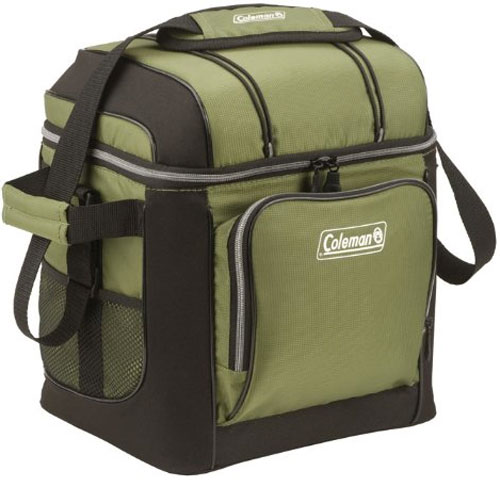 Coleman 30 Can Soft Cooler Review: in Green