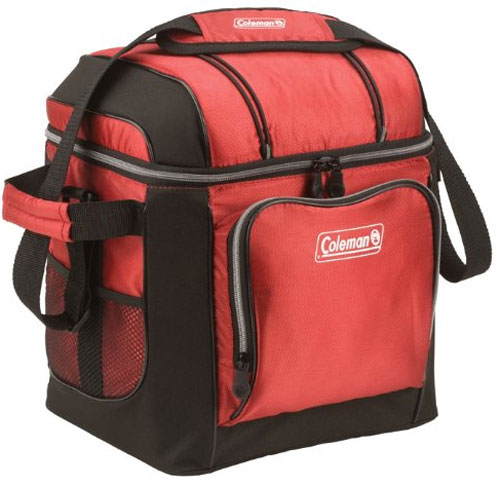 Coleman 30-Can Soft Cooler in Red