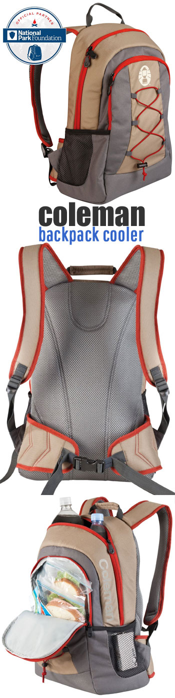 Coleman Backpack Cooler with Pockets, Padding, Insulation