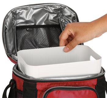 Hard Liner in Coleman Soft Cooler Bag