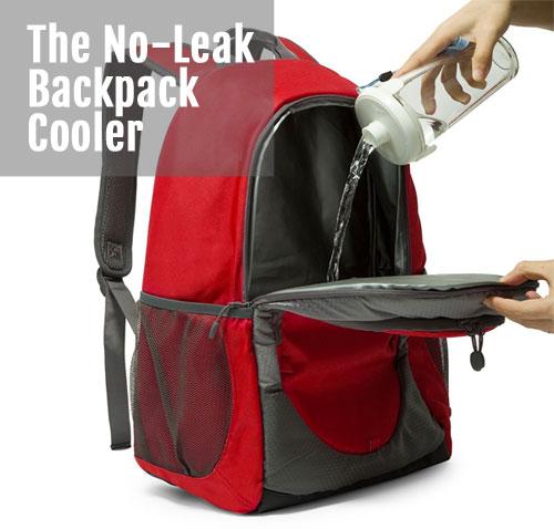 The No-Leak Backpack Cooler