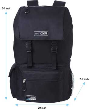 North Coyote Backpack Dimensions