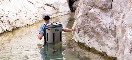 Navigating Water in the Backcountry with the Yeti Backpack Cooler